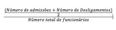 Cálculo de Turnover